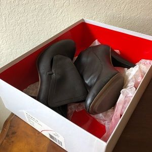 Coach brown booties size 9